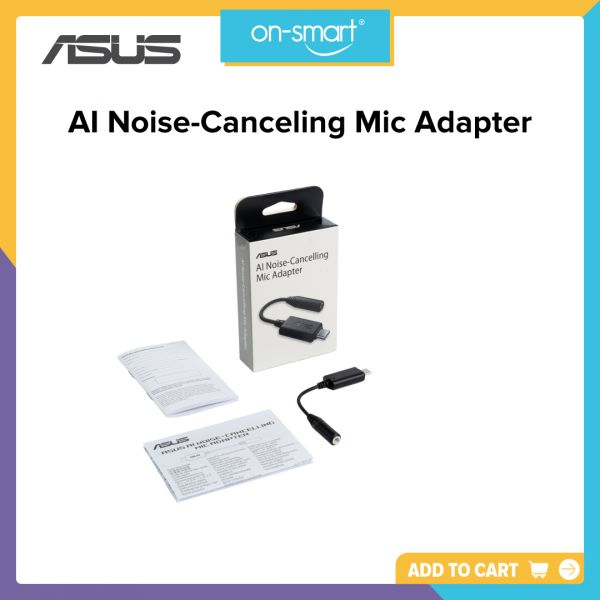ASUS AI Noise-Canceling Mic Adapter