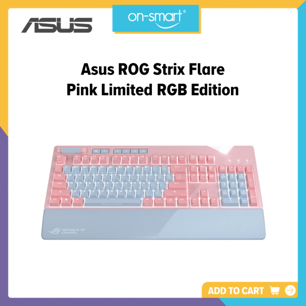 Asus ROG Strix Flare Pink Limited RGB Edition