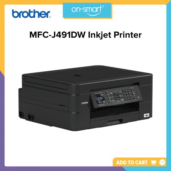 Brother MFC-J491DW Inkjet Printer