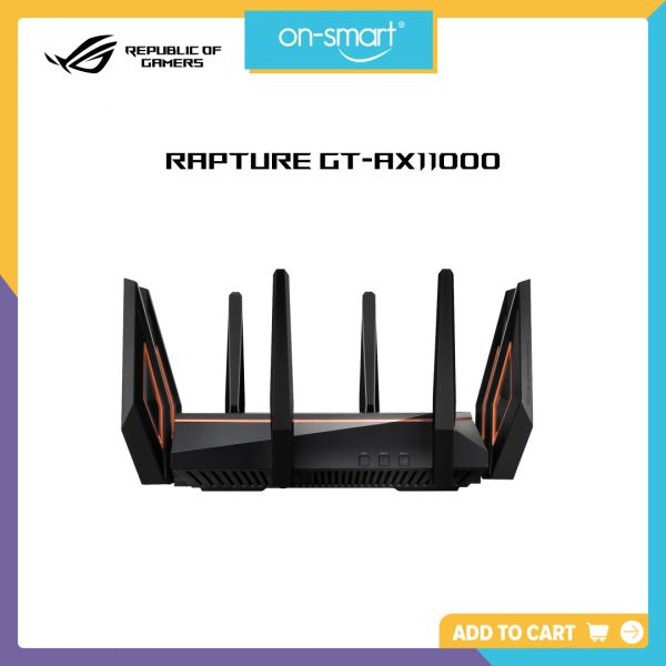 ASUS ROG Rapture GT-AX11000 Tri-band WiFi Gaming Router