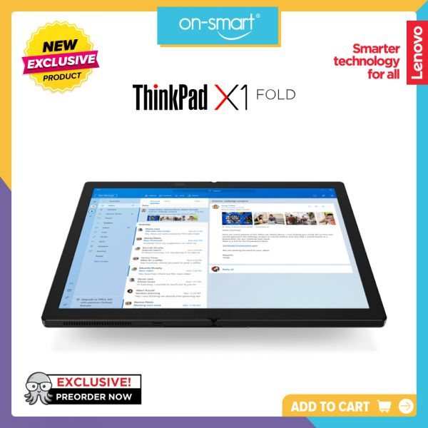 Lenovo Notebook ThinkPad X1 Fold Gen 1 20RKCTO1
